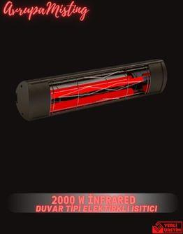 Duvar Tipi Elektrikli Isıtıcı 2500w