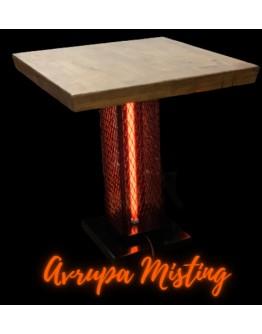 Dış Mekan Isıtıcılı Masa Ayağı 2000 (w) İnfarared Kızıl Ötesi